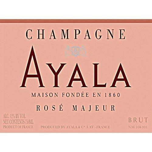 Ayala Brut Rose Majeur - Champagne & Sparkling