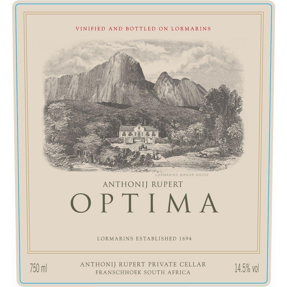 Anthonij Rupert 2012 Optima - Bordeaux Blends Red Wine