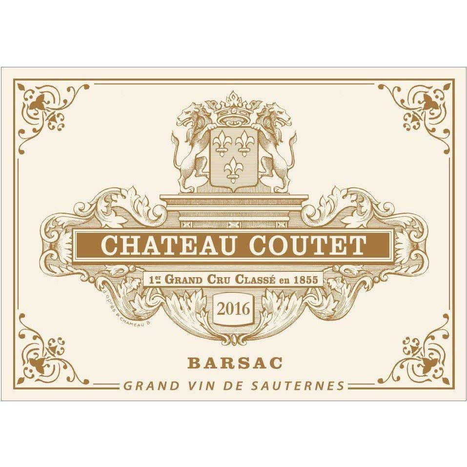 Chateau Coutet 2016 - Dessert Wine