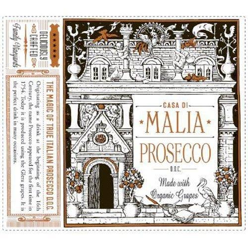 Casa di Malia Organic Prosecco - Champagne & Sparkling