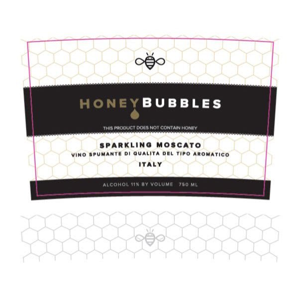 Honey Bubbles Sparkling Moscato - Champagne & Sparkling