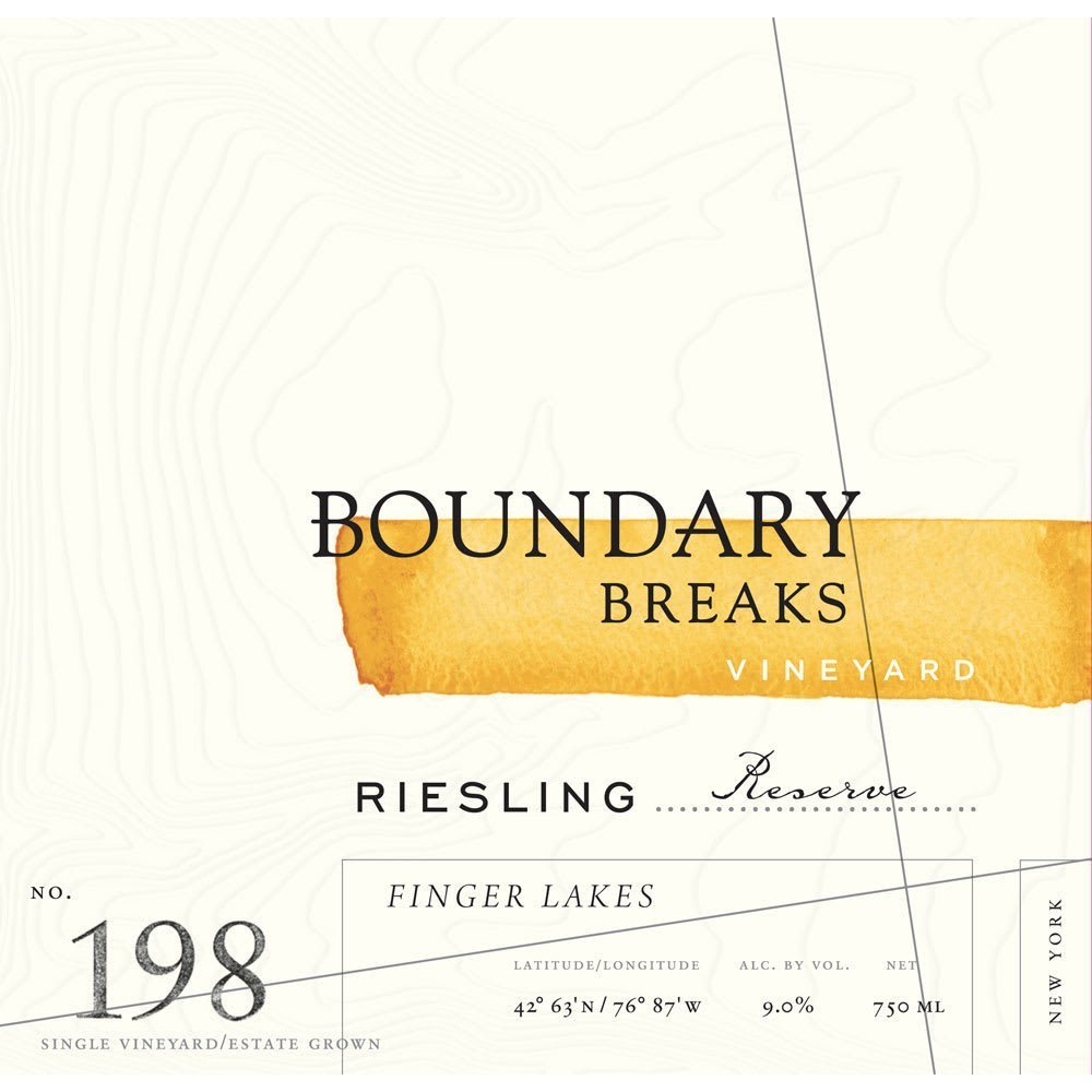 Boundary Breaks 2017 No.198 Reserve Riesling - White Wine
