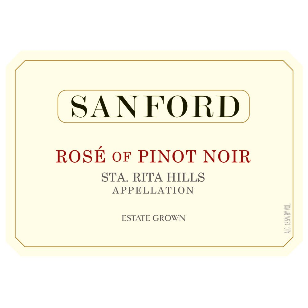 Sanford 2017 Rose of Pinot Noir - Rose Rose Wine