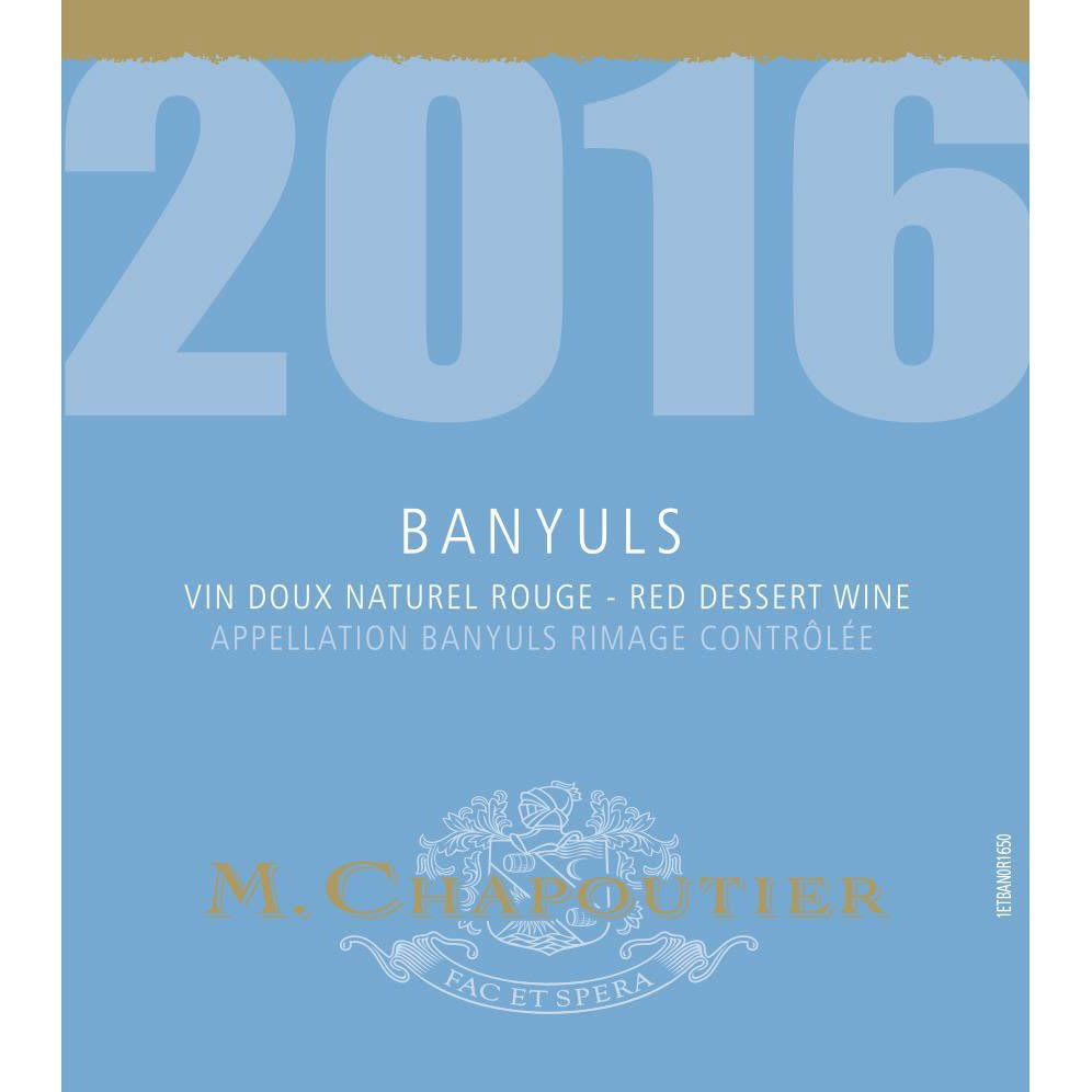 M. Chapoutier 2016 Banyuls (500ML) - Dessert Wine