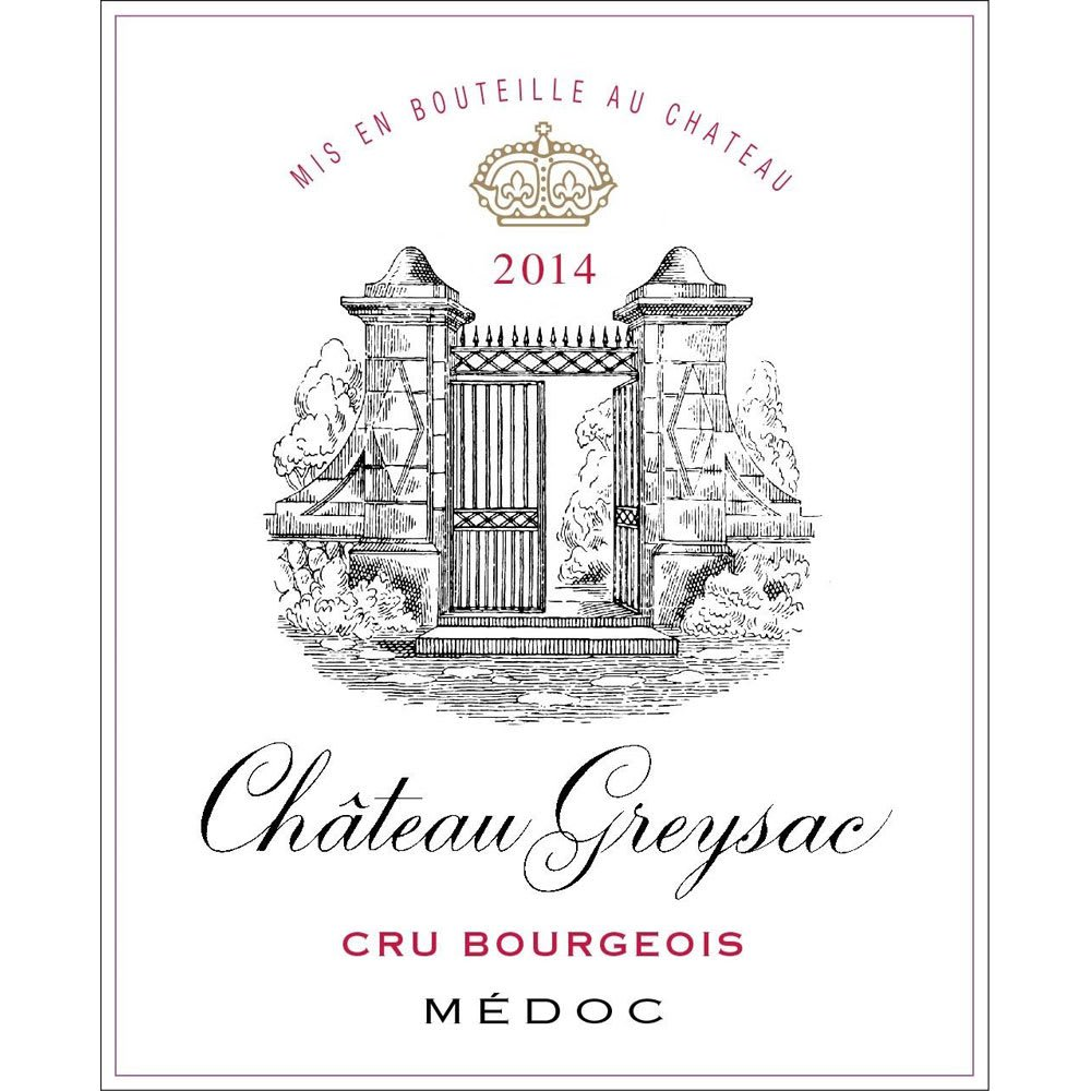 Chateau Greysac 2014 - Bordeaux Blends Red Wine