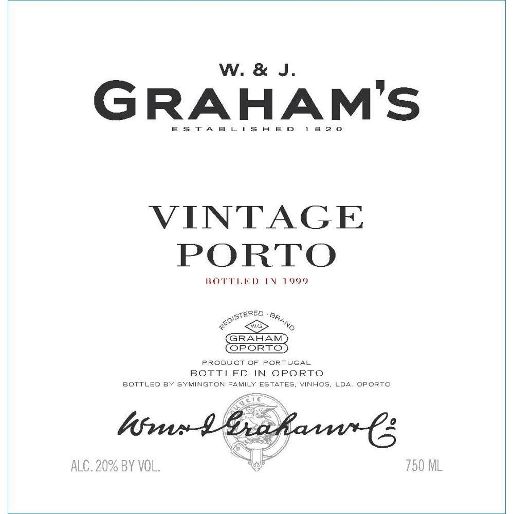 Graham's 2000 Vintage Port - Dessert Wine