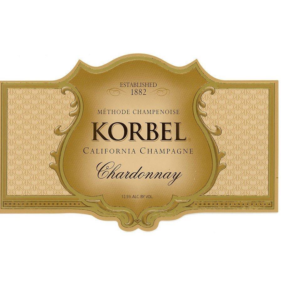 Korbel Chardonnay Champagne - Champagne & Sparkling