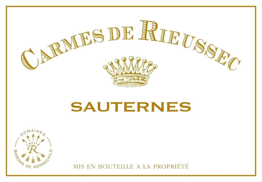Chateau Rieussec 2018 Carmes de Rieussec Sauternes (Futures Pre-Sale) - Dessert Wine