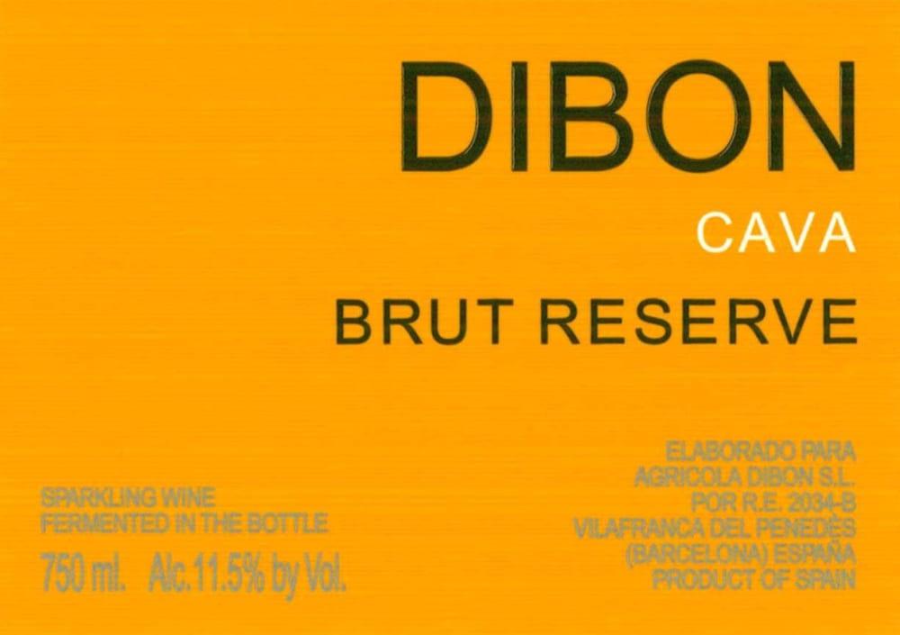 Dibon Cava Reserve Brut - Champagne & Sparkling