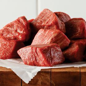 1 (1 lb. pkg.) Filet Mignon Tips