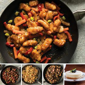 Gourmet Skillet Meals Combo + FREE Cheesecakes