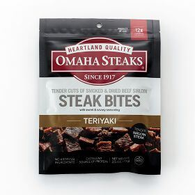 2 (2.5 oz. pkgs.) Teriyaki Steak Bites