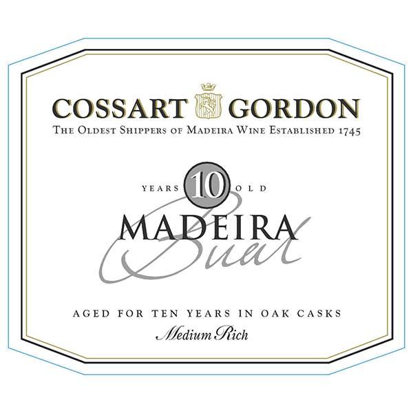 Cossart Gordon 10 Year Baul Maderia (500 ML bottle) - Madeira Dessert Wine