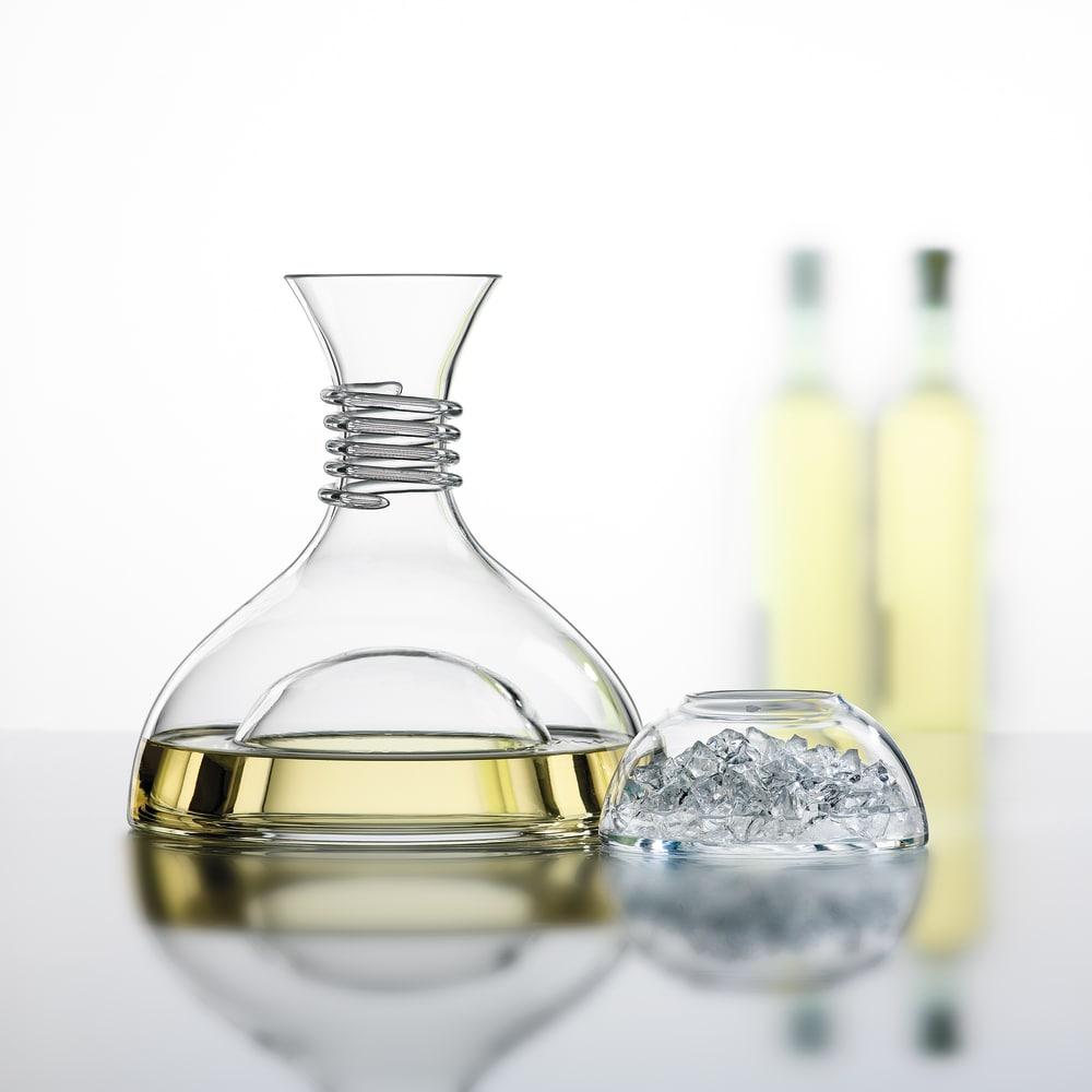 Spiegelau Red & White Decanter - In Box Glassware Glassware