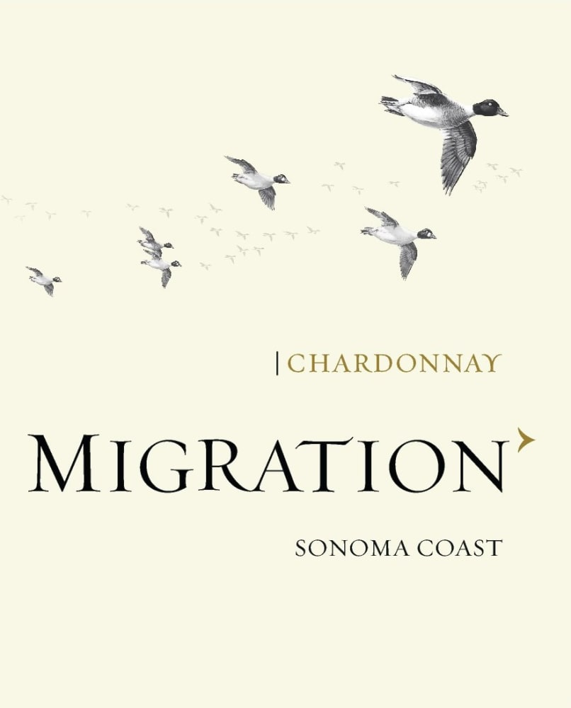 Migration 2017 Sonoma Coast Chardonnay - White Wine