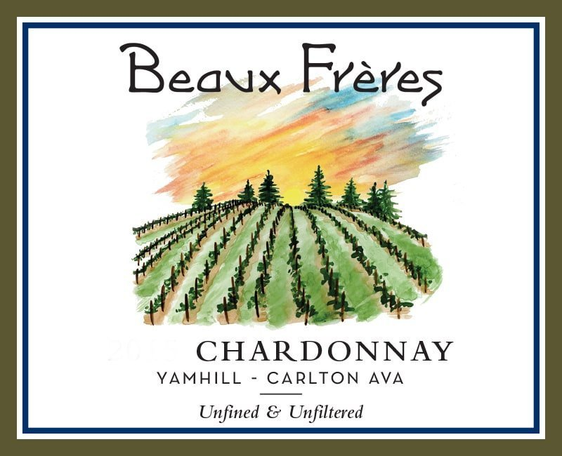 Beaux Freres 2016 Yamhill-Carlton District Chardonnay - White Wine