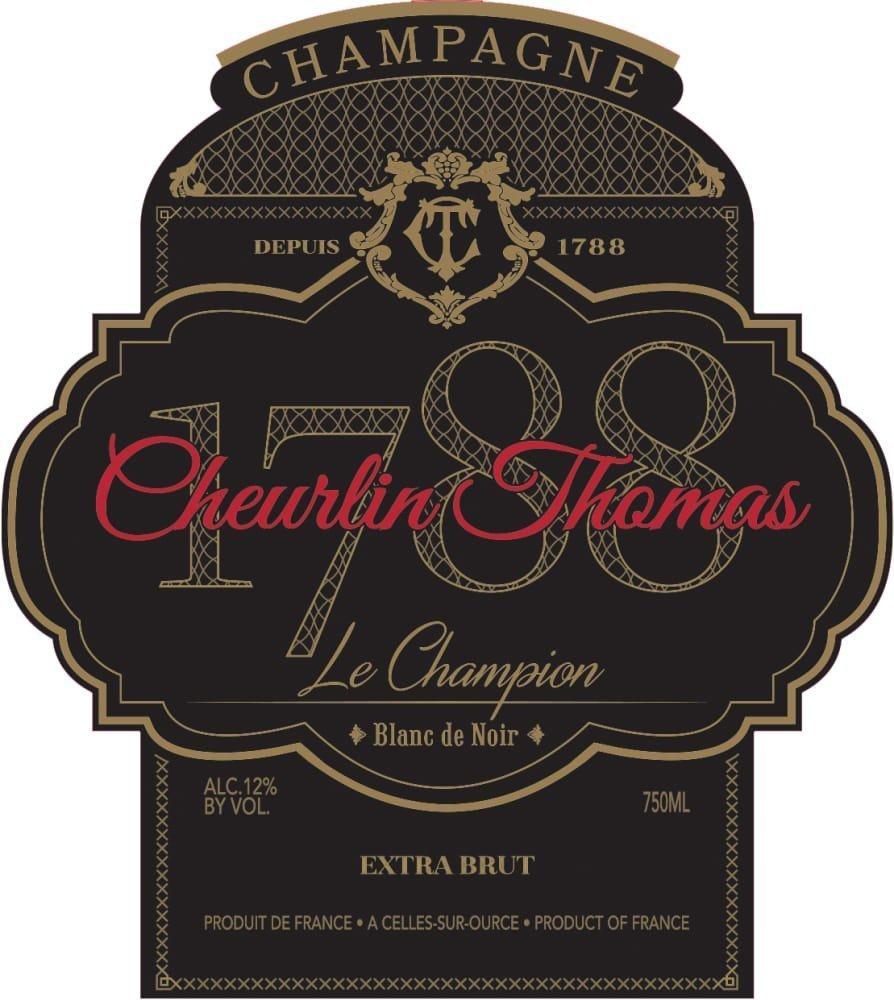 Cheurlin Thomas Le Champion Blanc de Noir - Champagne & Sparkling