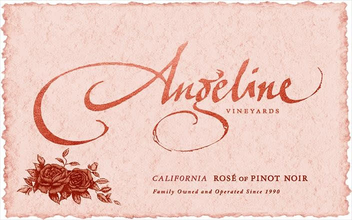 Angeline 2018 Rose of Pinot Noir - Rose Rose Wine