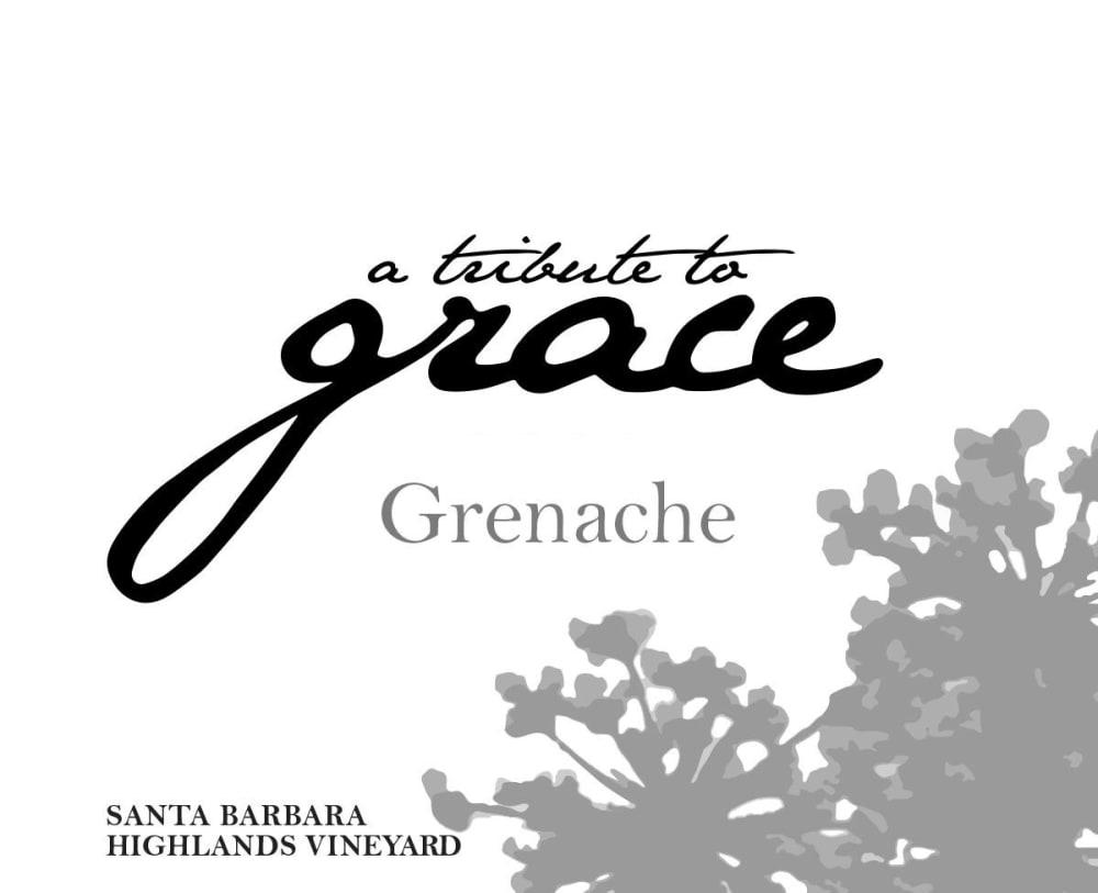 A Tribute to Grace 2015 Santa Barbara Highlands Vineyard Grenache - Red Wine
