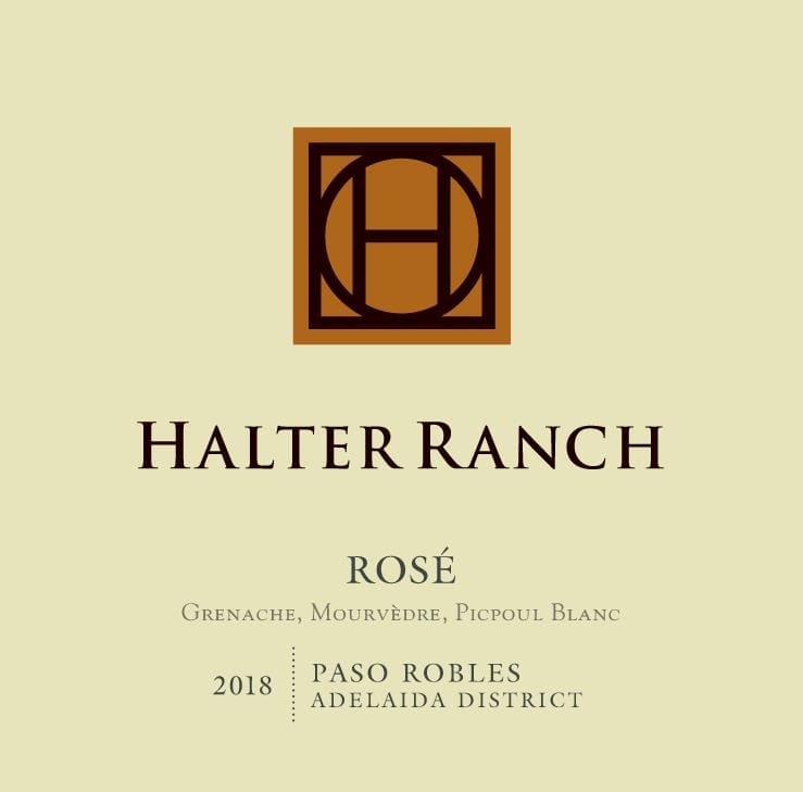 Halter Ranch Vineyard 2018 Rose - Rose Rose Wine