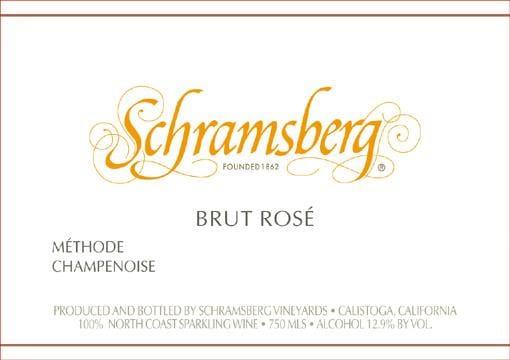 Schramsberg 2012 Brut Rose (1.5 Liter Magnum) - Champagne & Sparkling