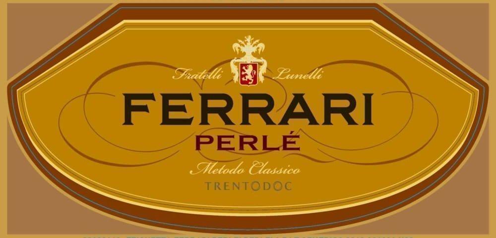 Ferrari 2012 Perle - Champagne & Sparkling