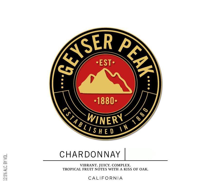 Geyser Peak 2017 Chardonnay - White Wine