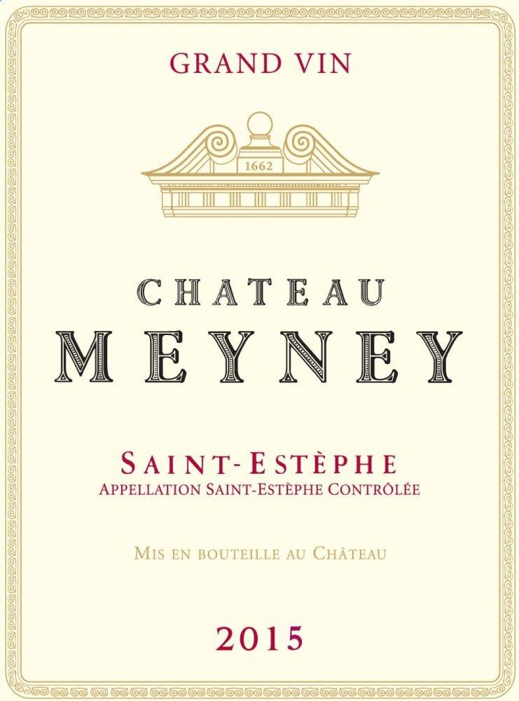 Chateau Meyney 2015 - Bordeaux Blends Red Wine