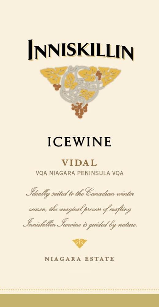 Inniskillin 2017 Vidal Icewine (375ML half-bottle) - Dessert Wine