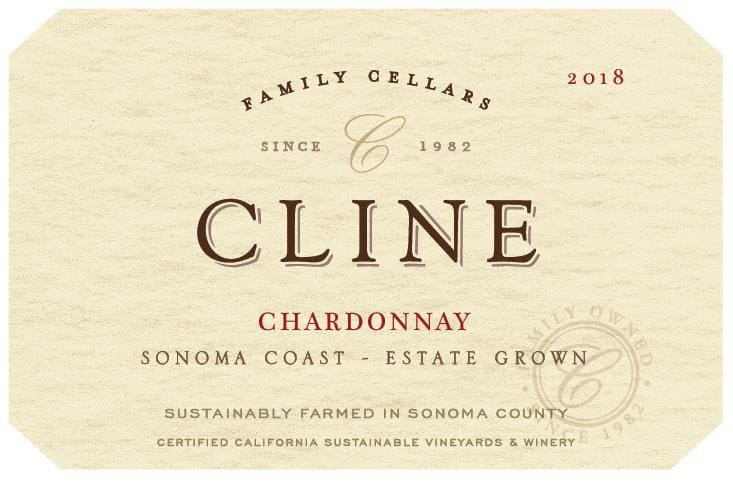 Cline 2018 Estate Chardonnay - White Wine