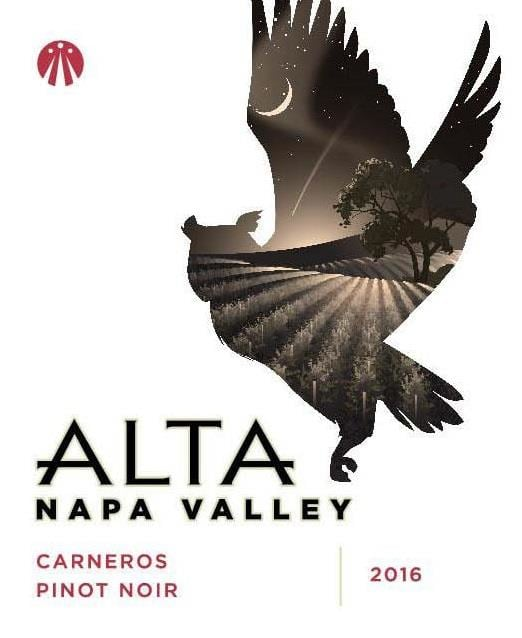 Alta 2016 Pinot Noir - Red Wine