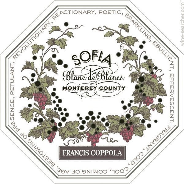 Francis Ford Coppola 2017 Sofia Blanc de Blancs - Champagne & Sparkling