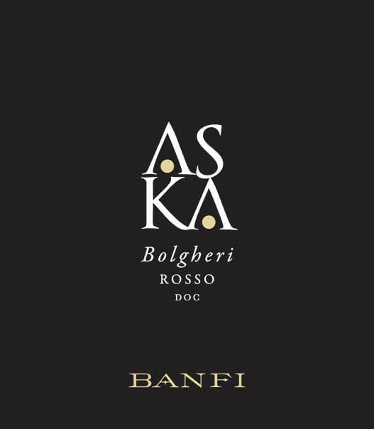 Banfi 2016 Aska Bolgheri Rosso - Bordeaux Blends Red Wine