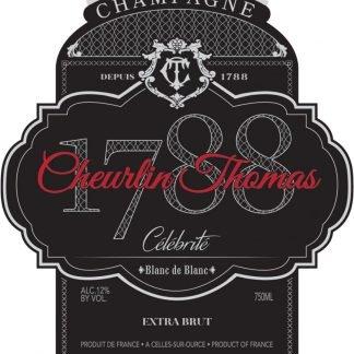 Cheurlin Thomas Celebrite Blanc de Blanc - Champagne & Sparkling
