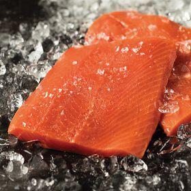 4 (6 oz.) Wild Alaskan Sockeye Salmon
