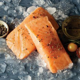 16 (6 oz.) Faroe Islands Salmon Fillets