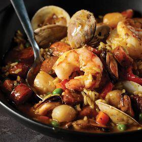 2 (20 oz. pkgs.) Spanish Rice with Seafood & Sausage