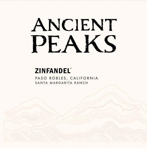 Ancient Peaks 2017 Paso Robles Zinfandel - Red Wine