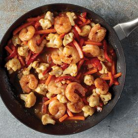 1 (24 oz.) Skillet Meal: Shrimp with Coconut Curry Sauce