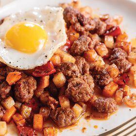 2 (15 oz.) Chorizo and Sweet Potato Hash Butcher's Breakfast