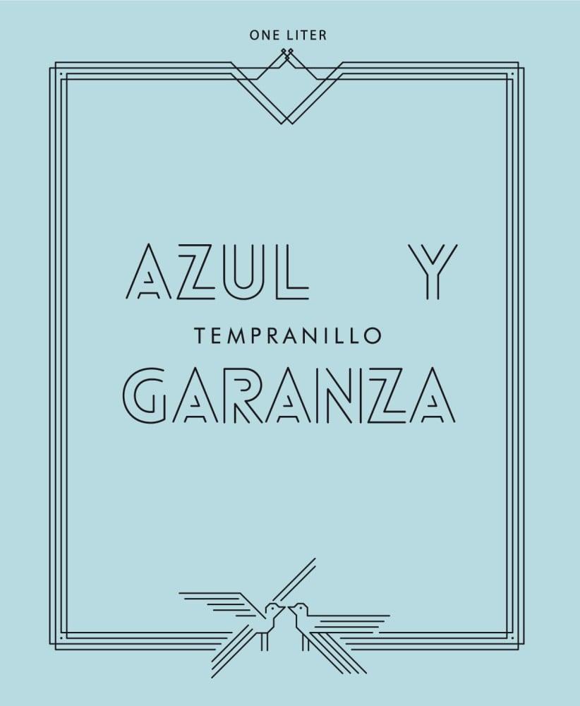 Azul y Garanza 2018 Tempranillo (1 Liter) - Red Wine