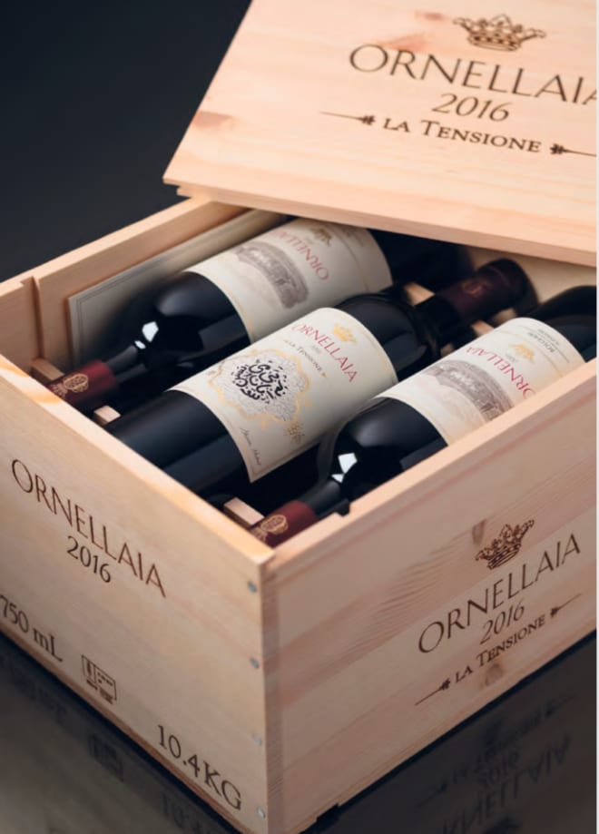 Ornellaia 6-Pack 2016 Wood Case (OWC) - Wine Collection Gift