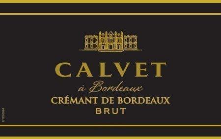 Calvet 2016 Cremant de Bordeaux Brut - Champagne & Sparkling