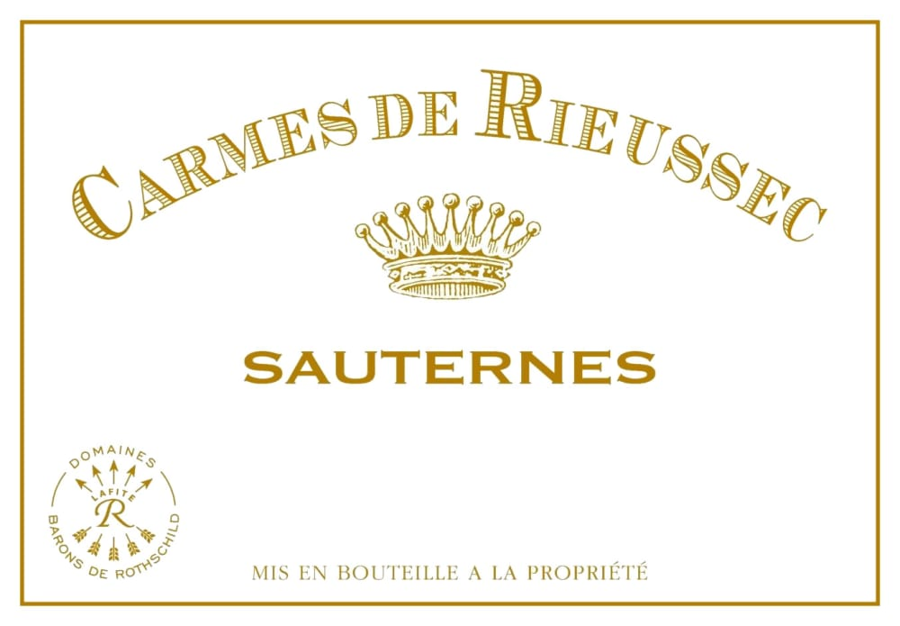 Chateau Rieussec 2018 Carmes de Rieussec Sauternes (375ML Futures Pre-Sale) - Dessert Wine