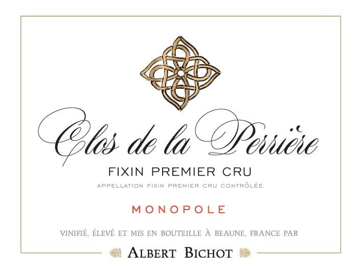 Albert Bichot 2015 Fixin Clos de la Perriere Premier Cru Monopole - Pinot Noir Red Wine