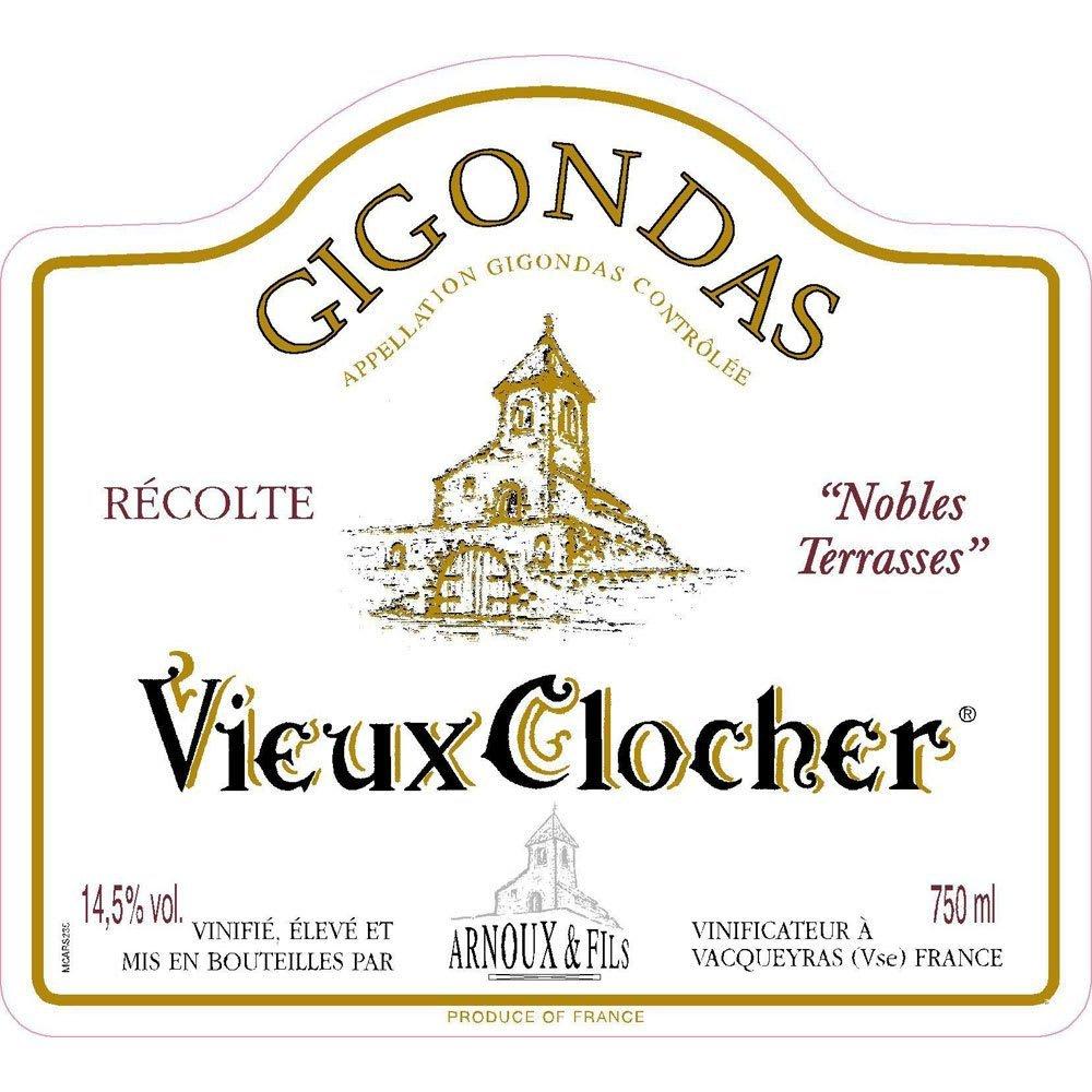 Arnoux et Fils 2017 Gigondas Vieux Clocher - Rhone Blends Red Wine