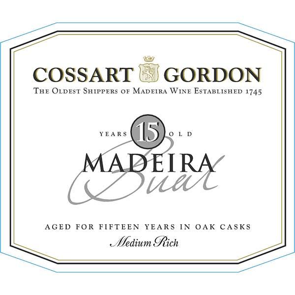 Cossart Gordon 15 Year Baul Maderia (500 ML bottle) - Madeira Dessert Wine