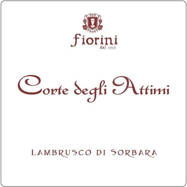 Fiorini 2018 Lambrusco di Sorbara Corte degli Attimi - Champagne & Sparkling