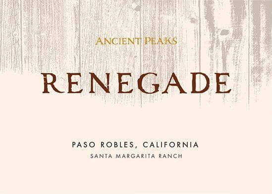 Ancient Peaks 2017 Paso Robles Renegade - Red Wine