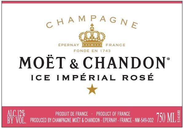 Moet & Chandon Ice Imperial Rose - Champagne & Sparkling